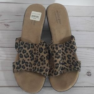 Sandals animal pattern by comfort plus predictions